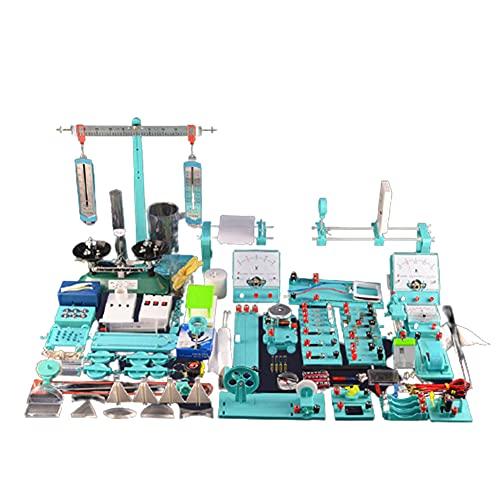 FXQIN Kit De Circuit De Physique, Kit De Magnétisme D'électricité De Science Lab Kits D'éducation Aux Expériences De pour Les Enfants De Premier Cycle du Secondaire Élèves du Secondaire