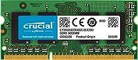 Crucial [Micron製Crucialブランド] Apple Macintosh 向け DDR3 8GB 1333 MT/s (PC3-10600) CL9 SODIMM 204pin 1.35V/1.5V for Mac CT8G3S1339M
