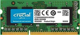 Crucial 16GB Single DDR3L 1600 MT/s (PC3L-12800) 204-Pin SODIMM Memory - CT204864BF160B (B0123BRIDK) | Amazon price tracker / tracking, Amazon price history charts, Amazon price watches, Amazon price drop alerts