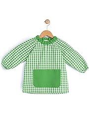 BeBright Babi Escolar Infantil sin Botones, Bata Escolar Niña y Niño, Mandilón de Guardería- Fabricado en España