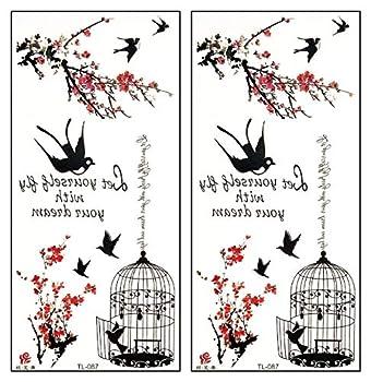 Best bird cage tattoo Reviews