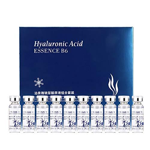 KISSION Serum Hyaluronsäure Feuchtigkeitsspendende Haut Anti-Aging Kollagen Extrakt (5mlx10)