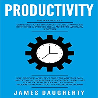 Productivity audiobook cover art