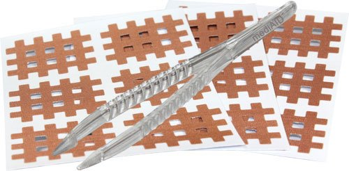 mediAID Crosslings/Spiral-Crosslings (Akupunkturpflaster) Typ-C (40 Stück) Das Original inkl. Pinzette