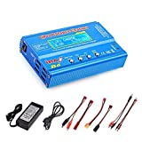 Haisito 80W 6A Lipo Charger RC Battery Balance Discharger for LiPo/Li-ion/Life...