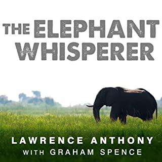 The Elephant Whisperer audiobook cover art
