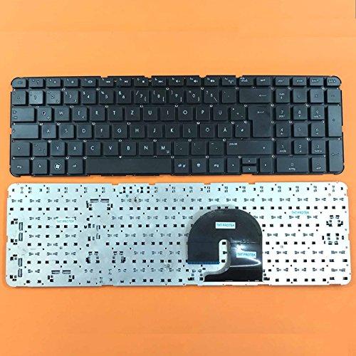 kompatibel für HP Pavilion DV7-4115sg, DV7-4154eg Tastatur - Farbe: schwarz - ohne Rahmen - Deutsches Tastaturlayout