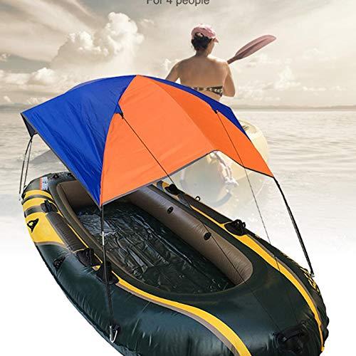 lembrd Boot Sonnenschutz - Tragbares Bootszelt - Schlauchboote Boat Sun Markise - wasserdichte Faltmarkise für Gummiboote für 4 Personen