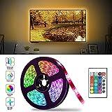 Led TV Hintergrundbeleuchtung, 2M USB Led Beleuchtung Hintergrundbeleuchtung Fernseher USB für 40...