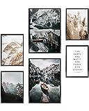 Heimlich® Premium Poster Set | OHNE Bilderrahmen |