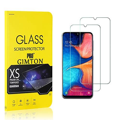 GIMTON Displayschutzfolie für Galaxy A20E, 9H Härte, Anti Bläschen Displayschutz Schutzfolie für Samsung Galaxy A20E, Einfach Installieren, 2 Stück