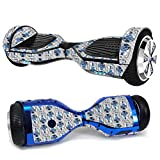 MightySkins Carbon Fiber Skin for Ultra Hoverboard - Galaxy Bots | Protective, Durable Textured Carbon Fiber Finish | Easy to Apply, Remove, and Change Styles | Made in The USA