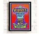 yiyishop Rahmenloses Woodstock Rockmusikfestival