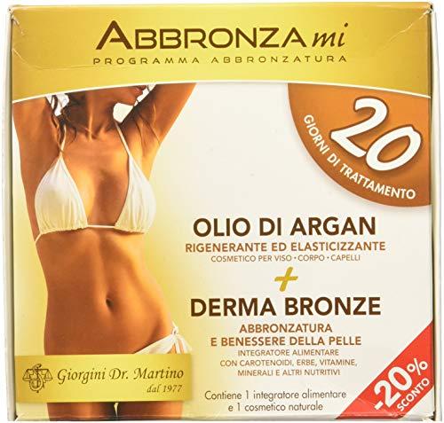Dr. Giorgini Integratore Alimentare Abbronzami Pastiglie e Olio - 120 g
