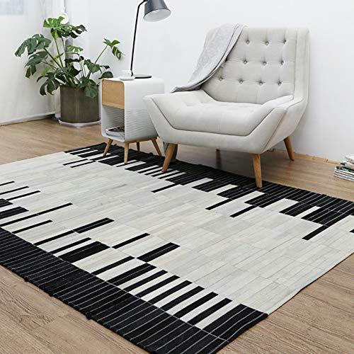 JIADT tapijt lederen lappendeken voor woonkamer slaapkamer extra groot is 200 * 300Cm voor 100% natuurlijke tapijt Km03