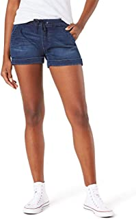 Women's Mid-Rise Pull on Shorts