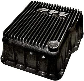 PPE Heavy-Duty Deep Aluminum Allison Transmission Pan (Black) 128051020 Compatible with 2001-2019 Chevy/GMC 6.6L Duramax Diesel