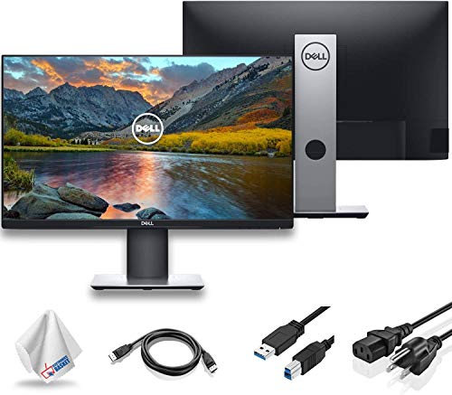 "Dell P2219H 21.5"" 16:9 Ultrathin Bezel IPS Monitor (P2219H) with Microfiber Cleaning Cloth - 1 - Pack"