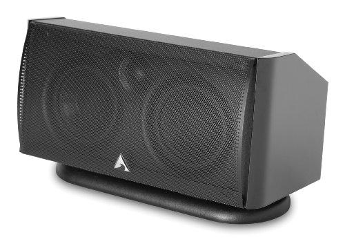 Atlantic Technology 1400C-BLK Center Channel Speaker (Single, Black)