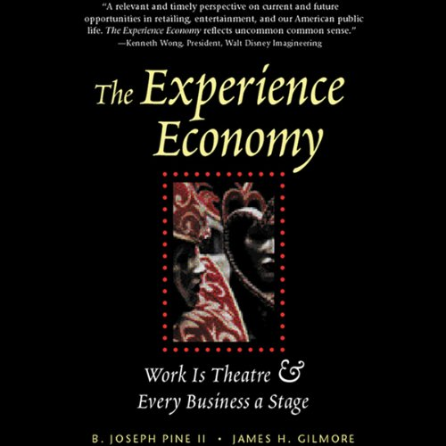 The Experience Economy audiobook cover art