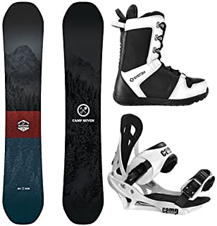 Camp Seven Redwood and Summit Men's Complete Snowboard Package New 2020