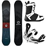 Camp Seven Package Redwood Snowboard 149 cm Summit Bindings-System APX Boot 8