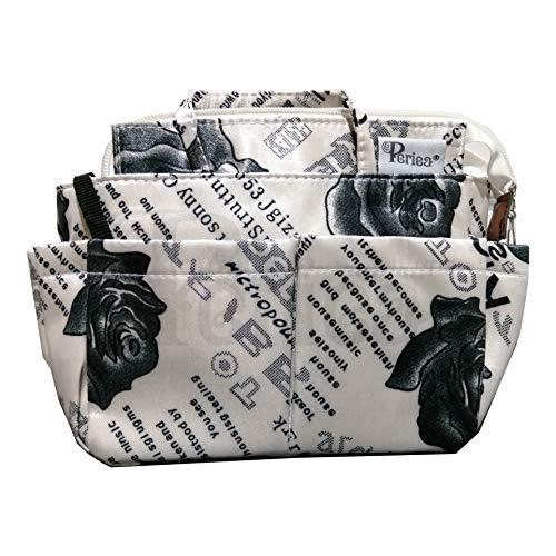 Periea Handtaschen-Organiser Geldbeutel-Einsatz 13 Fächer 3 Farben - Marina