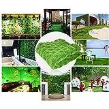 soundwinds Kunstrasen Rasen Grün Kunstrasen Teppich Gefälschte Faux Gras Matte Hausgarten Moos für Haus Boden DIY Hochzeitsdekoration Gras 100100 cm - 4