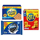 Best Maid Cookies - OREO, RITZ, & Honey Maid Snack Variety Pack Review