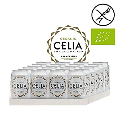 Glutenfreies Bier Celia BIO Dosenbier (24 x 0,33 Liter)