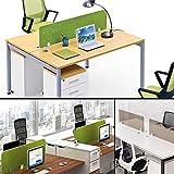 freneci 3x Unterstützung für Office Desktop Panel Panel Trennwände Aus Aluminiumlegierung