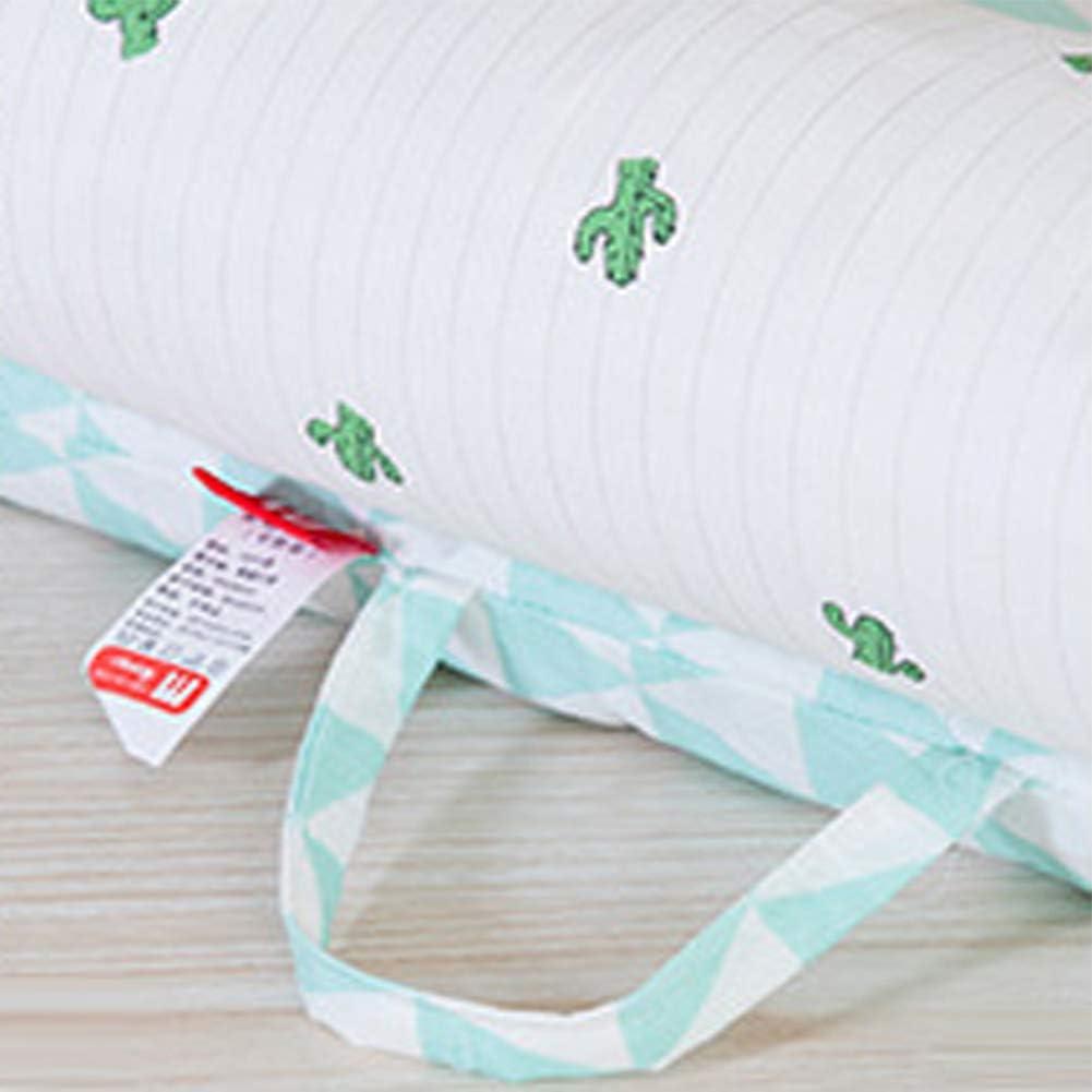 ZXLLO Berceau Bébé Doux et Respirant Toutes Les Saisons Berceau Nouveau Né Portable Lavable Parfait pour Câliner Sieste et Trave dot green (little bear)