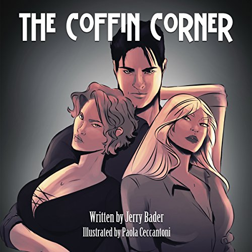 The Coffin Corner audiobook cover art