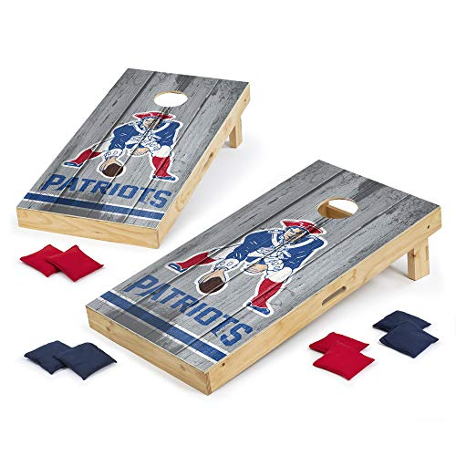 PROLINE NFL New England Patriots 2'x4' Cornhole Board Set - Vintage Design