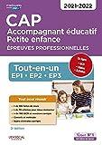 CAP Accompagnant éducatif Petite enfance - Épreuves...