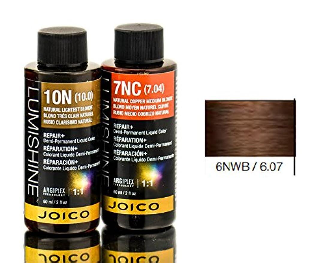 回想こするにんじんJoico Lumishineデミパーマネント液体色、6nwb / 6.07、 2オンス