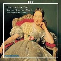 Ferdinand Ries: String Quartets, Vol. 2 by Ferdinand Ries (2008-02-26)