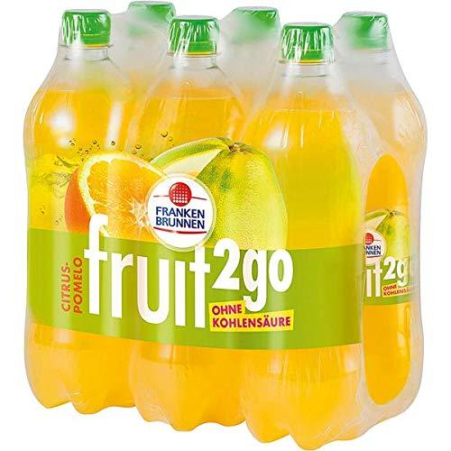 Franken Brunnen fruit2go Citrus-Pomelo Erfrischungsgetränk ohne Kohlensäure 6 x 0,75l (inkl. 1,50 € Pfand)