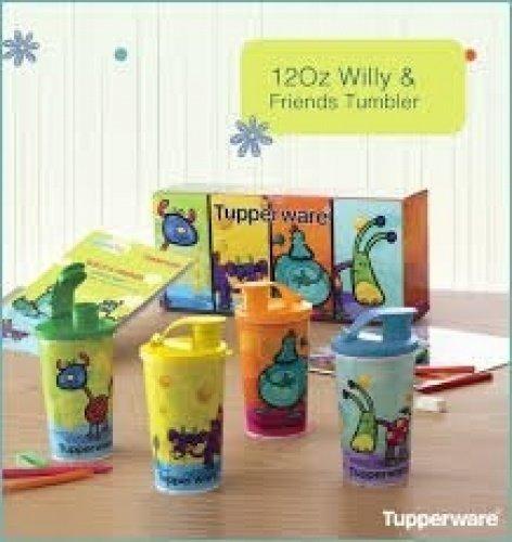 Summer spécial Gobelet avec gratuit Shippi à partir de Tupperware pour enfants..... Tupperware 340,2 gram Willy et ses amis gobelets – 340 ml chaque – Shippi gratuit