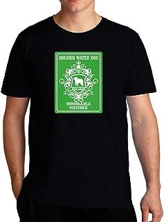 Eddany Spanish Water Dog Fan Club Honorable Member T-Shirt