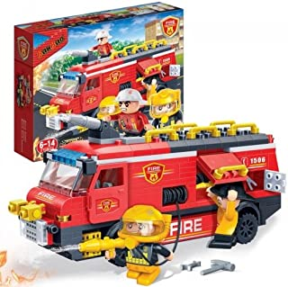 BanBao Fire Rescue Team Building Kit