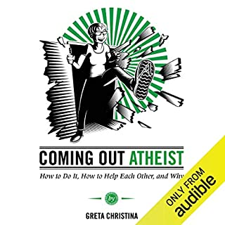 Coming Out Atheist audiobook cover art