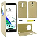 ebestStar - Coque Compatible avec LG G4 H815, G4 Dual-LTE Etui Housse Portefeuille Livre avec...