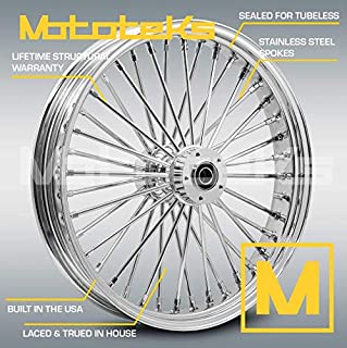 21X3.5 40 FAT SPOKE WHEEL (W/ABS) FOR HARLEY TOURING BAGGER MODELS 2008-2017