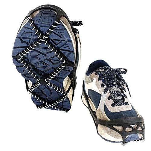 Steigeisen Für Schuhe Anti-Rutsch Winter Schuhkrallen Damen Herren Grödel Spikes Geeignet Für Alle Arten Von Sportschuhen, Wanderschuhen, Wanderschuhen Usw.