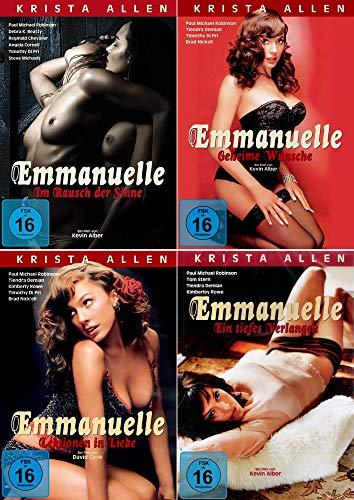 Emmanuelle 4er Collection - Ein tiefes Verlangen + Im Rausch der Sinne + Geheime Wünsche + Lektion in Liebe
