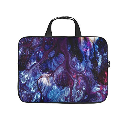Stains Abstract Texture Abstract Laptop Bag Dustproof Laptop Carrying Bag Pattern Notebook Bag for University Work Business