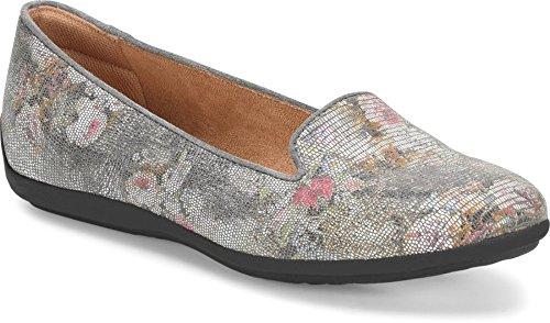 Comfortiva Women's Marybeth Fumo Grey Suedeflats-Shoes 8 C/D US