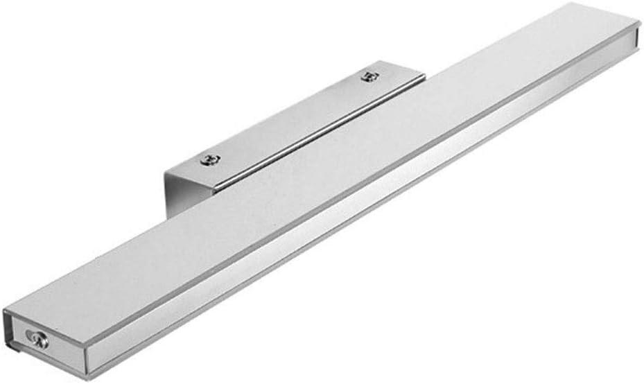 -badezimmerlampe LED-Badezimmer-Eitelkeit beleuchtet wasserdichte und beschlagfreie Schlafzimmer-Ankleidezimmer-Lampe Acryl-Edelstahl Badleuchte (Color : B-92cm) A-42cm