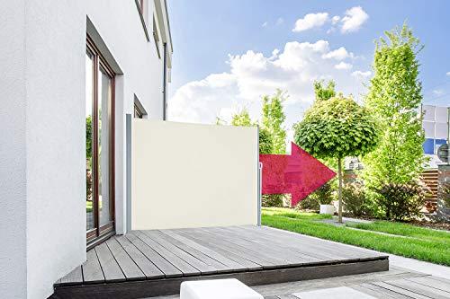 empasa Seitenmarkise Start Sichtschutz Sonnenschutz, Höhe 160 oder 180 cm, Länge bis max. 450 cm.